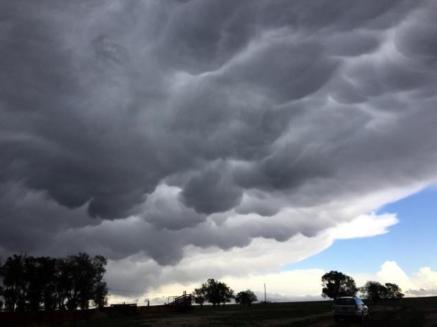 Tornado coming