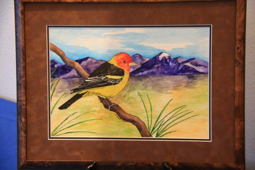 2015 Artwork - Western Tanager